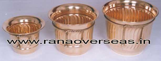 BrassMetalPlanter3713