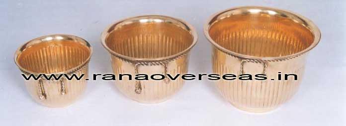 BrassMetalPlanter3715